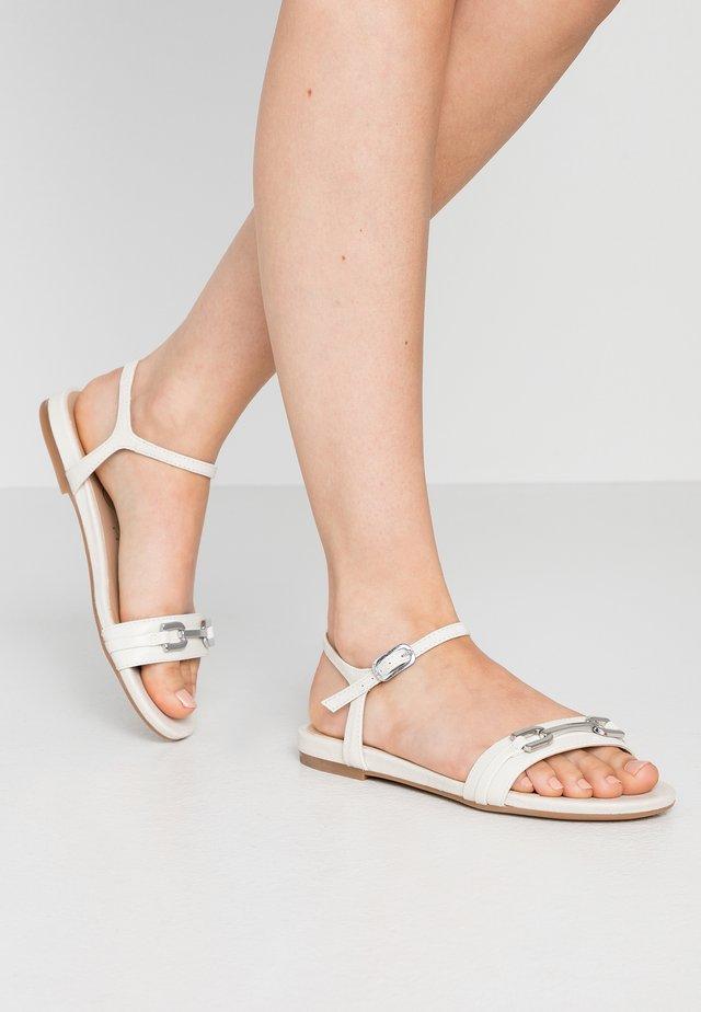 CARITA - Sandals - ivory