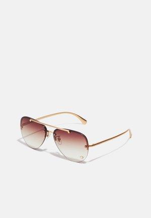 UNISEX - Sunglasses - rose gold-coloured