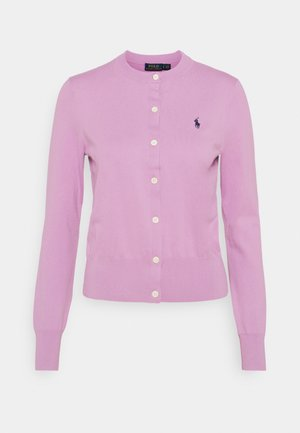 CARDIGAN LONG SLEEVE - Chaqueta de punto - matisse purple