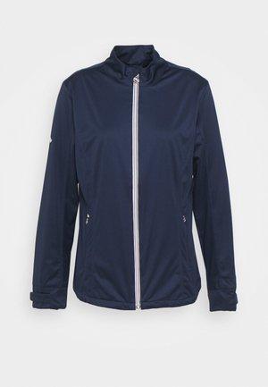 Soft shell jacket - peacoat
