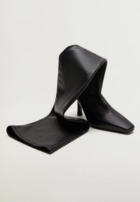 Mango - LAURA - Over-the-knee boots - black - 5
