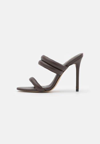 ABARDOLITH - Sandaler - dark brown
