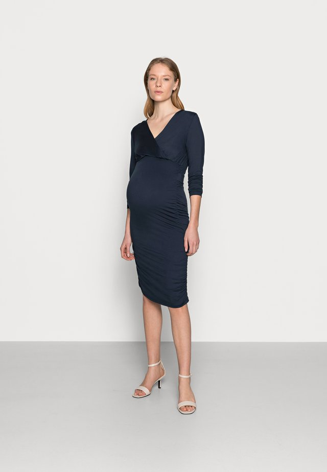 MLSAIDY DRESS - Žerzejové šaty - black