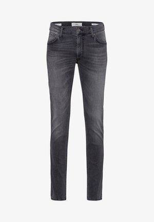 STYLE CHUCK - Jean slim - stone grey used