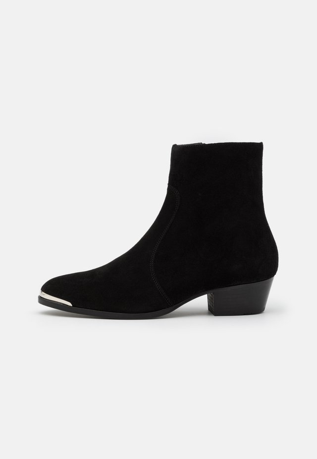 ZIMMERMAN STEEL BOOT  - Bottines - black coffee