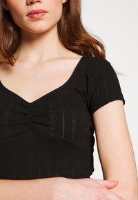 Even&Odd - Basic T-shirt - black - 4