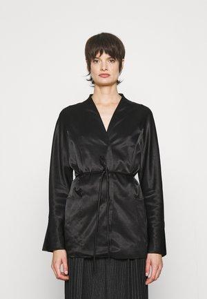 VINNEYS - Short coat - black