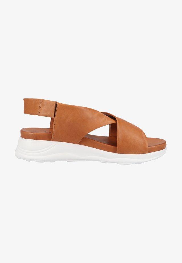 Sandales de randonnée - cognac