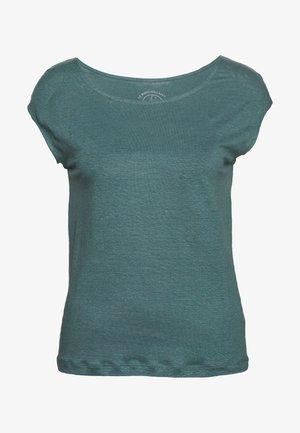 TEE  - Basic T-shirt - brut