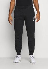 Puma - NEYMAR JR TRACK PANT - Pantalon de survêtement - black - 0