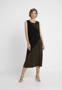 Great Plains London - MARNIE - Cocktail dress / Party dress - dark olive/black - 0