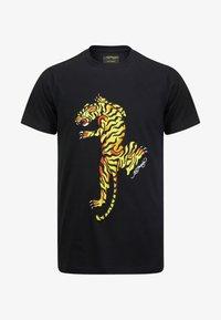Ed Hardy - TIGER GROWL T-SHIRT - Print T-shirt - black - 4