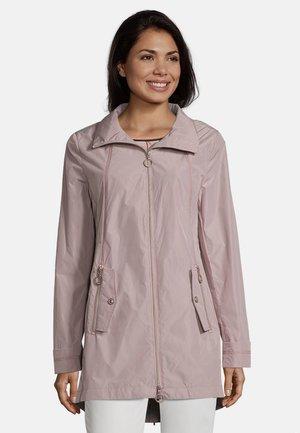 MIT STEHKRAGEN - Short coat - deauville mauve