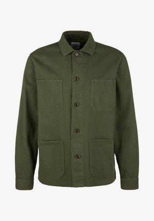 MIT FISCHGRATMUSTER - Summer jacket - olive