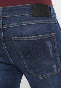 Gym King - RIP AND REPAIR - Jeans Skinny Fit - indigo - 5