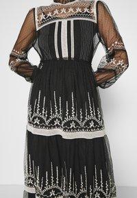 Derhy - FAIENCE ROBE - Maxi dress - black - 7
