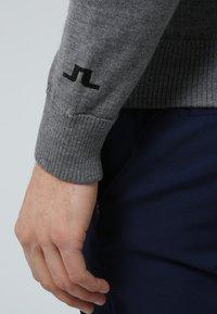 J.LINDEBERG - KIAN TOUR - Stickad tröja - grey melange - 6