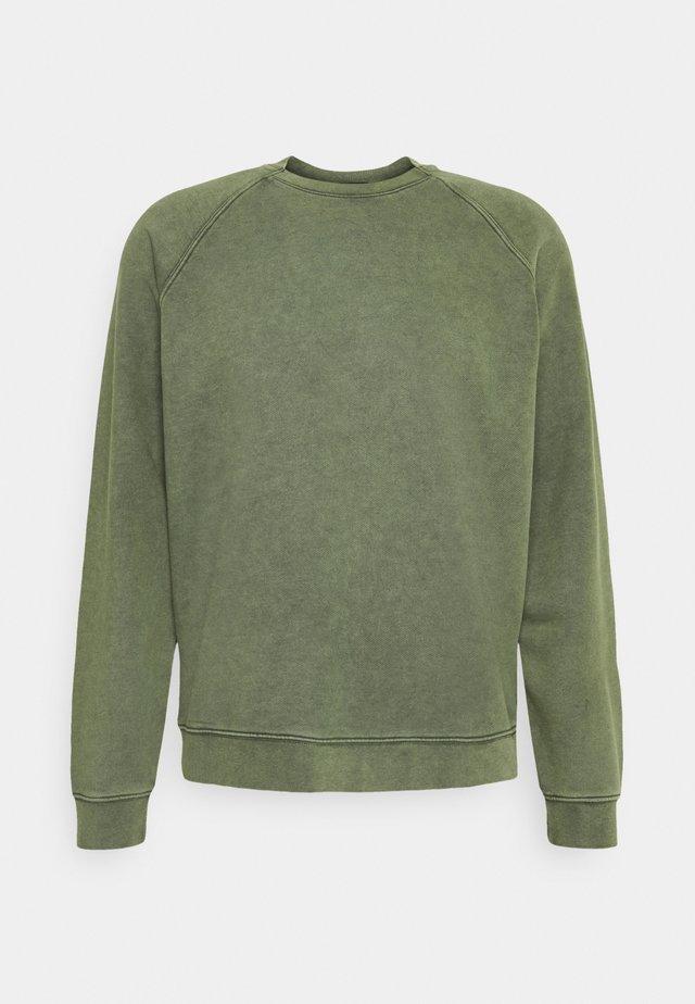 BLAKE - Sweater - mottled olive