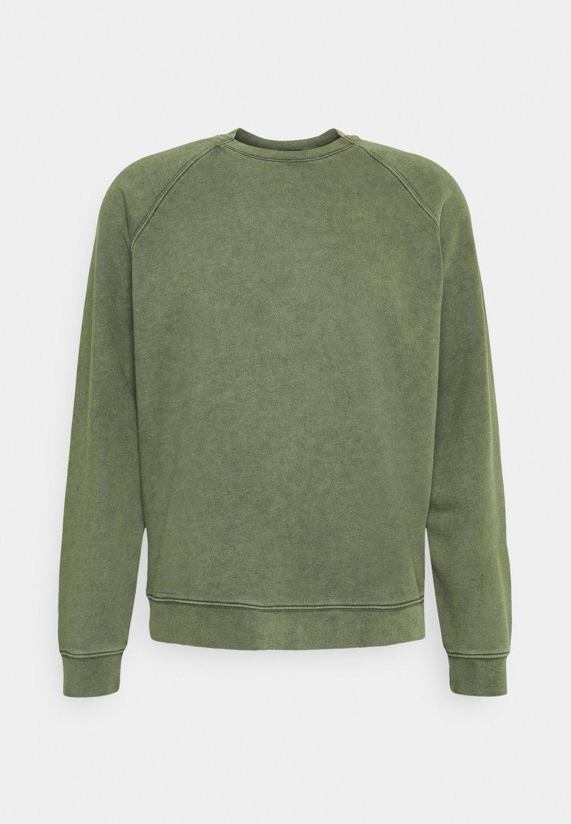 DRYKORN - BLAKE - Sweatshirt - mottled olive