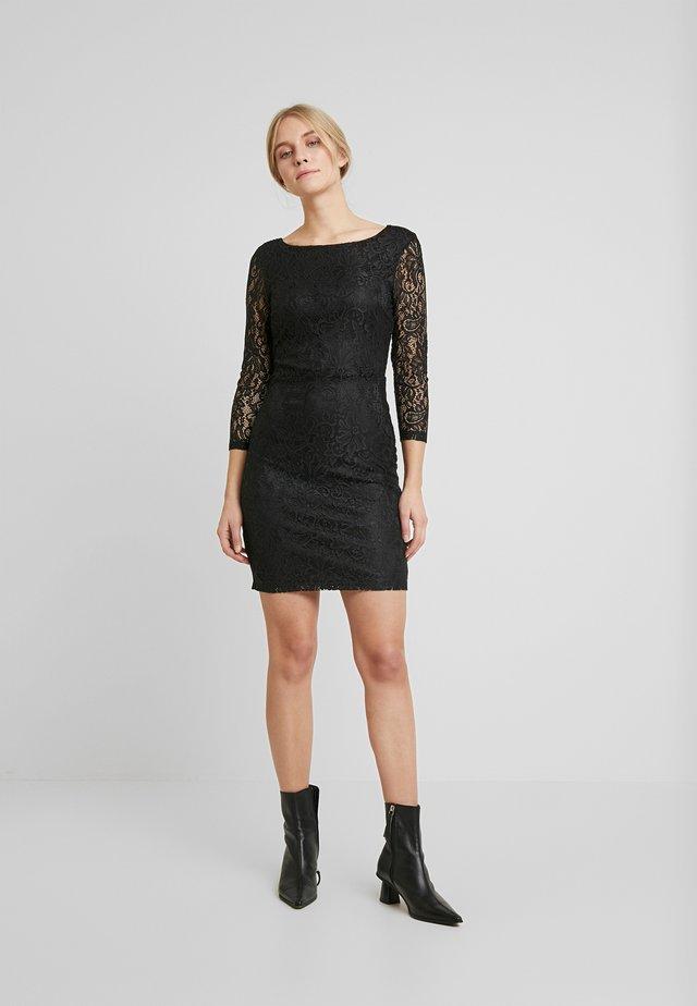 BODYCON DRESS - Vestido de cóctel - deep black