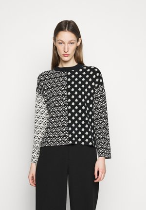 GINO - Long sleeved top - schwarz