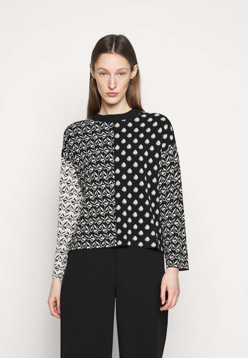WEEKEND MaxMara - GINO - Long sleeved top - schwarz