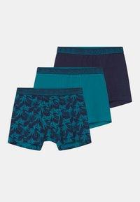 Schiesser - TEENS 3 PACK - Pants - dark blue - 0