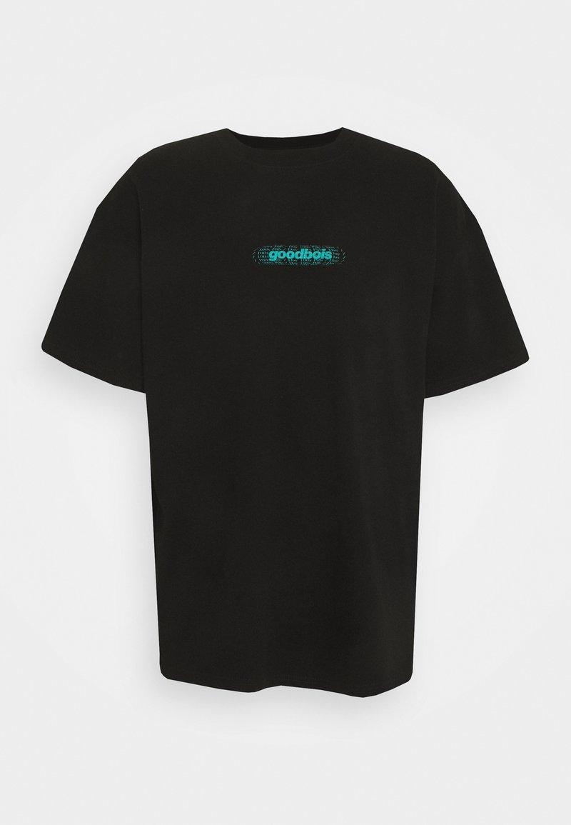 GOODBOIS - PILLS OVERSIZE - T-shirt med print - black