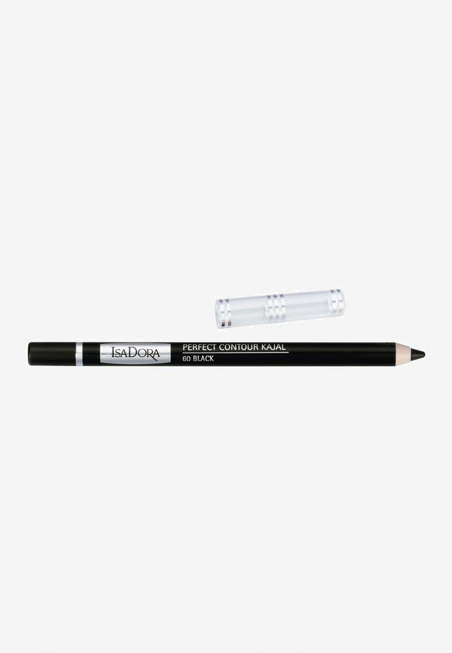 PERFECT CONTOUR KAJAL - Eyeliner - black