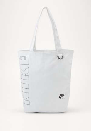 HERITAGE UNISEX - Shopping bag - white/white/black