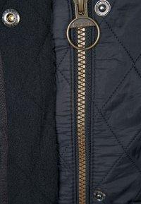 Barbour - POLARQUILT - Lehká bunda - black - 2
