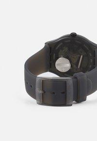 Swatch - BLUR UNSIEX - Watch - black - 1