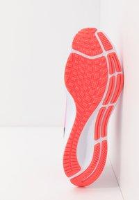 Nike Performance - AIR ZOOM PEGASUS 37 - Neutral running shoes - pink glow/black/platinum violet/white - 4