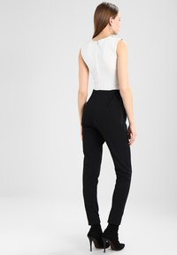 WAL G. - SHOULDER CONTRAST - Jumpsuit - black/white - 2