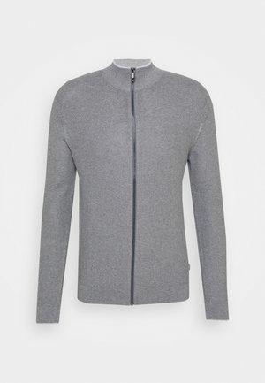Strickjacke - medium grey