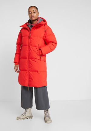 ALBANY - Down coat - coral red