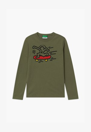 KEITH KISS BOY - Long sleeved top - khaki