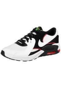 Nike Sportswear - AIR MAX EXCEE - Trainers - white / white / black / flash crimson - 2
