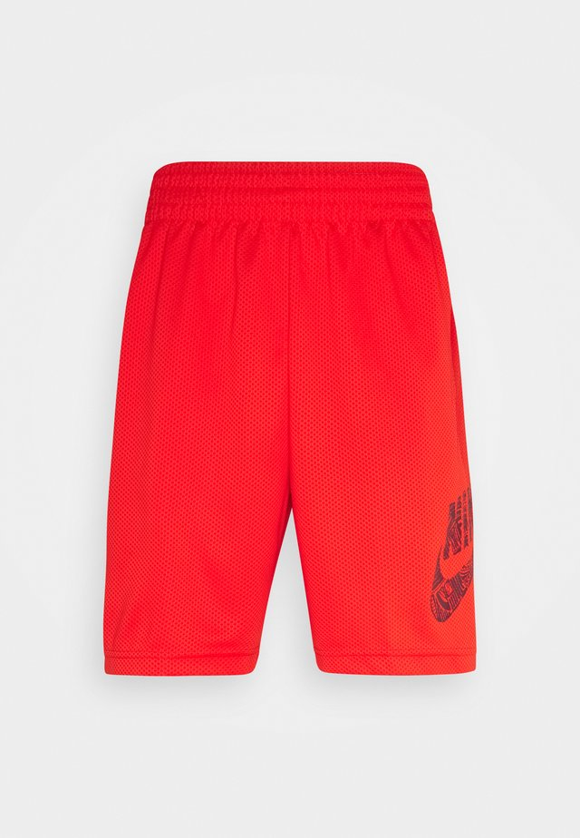 SUNDAY UNISEX - Shorts - chile red/dark beetroot
