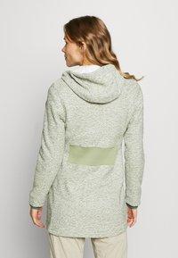Icepeak - AURAY - Zip-up hoodie - antique green - 2