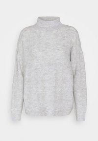 PCBECKY HIGH NECK CABLE  - Svetr - light grey melange