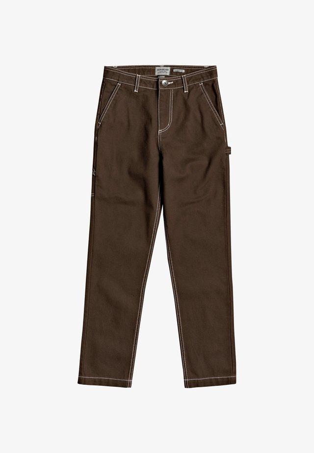 GAWER  - Trousers - demitasse