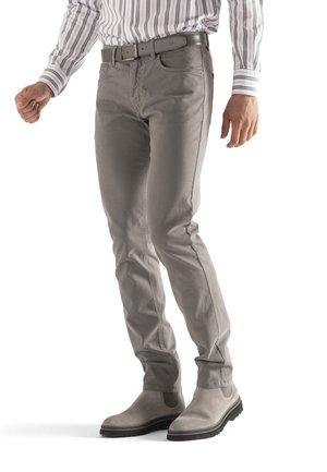 Straight leg jeans - grigio scuro