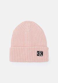 Calvin Klein Jeans - MODERN ESSENTIALS BEANIE UNISEX - Bonnet - pink - 0