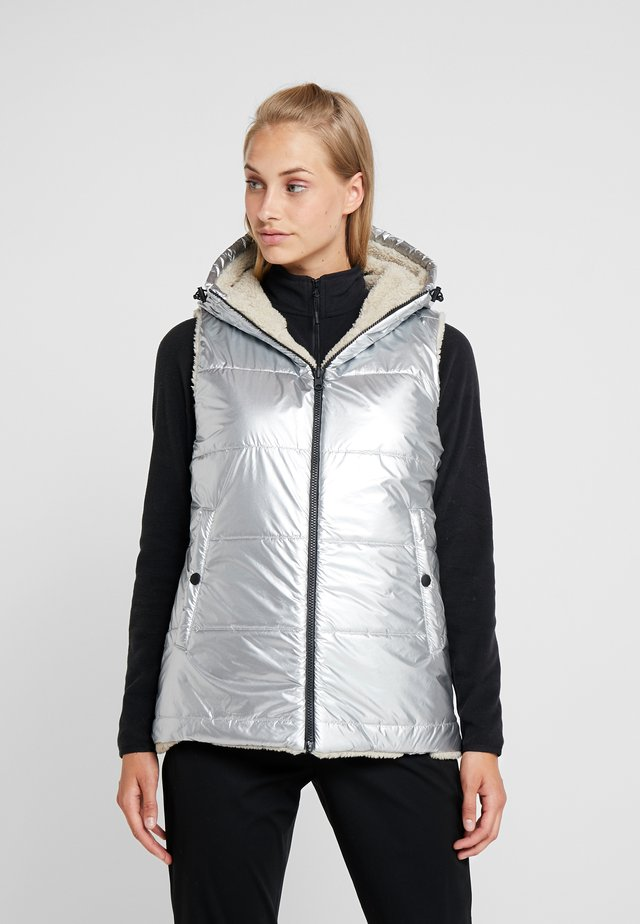 PEGGY - Vest - silver