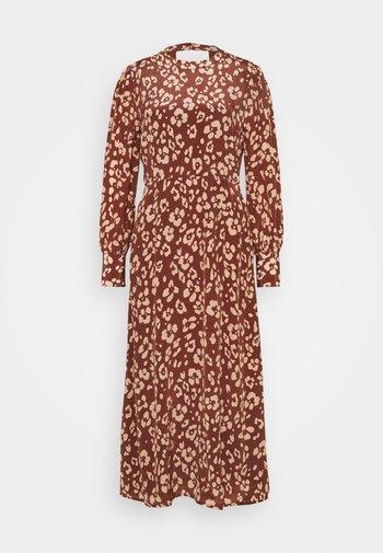 SARAH DRESS - Day dress - mahogony