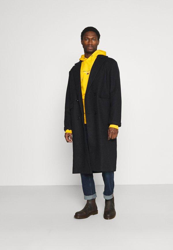 Tommy Hilfiger ESSENTIAL HOODY - Bluza z kapturem - courtside yellow/żÓłty Odzież Męska NDQS