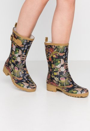 BOTT  - Wellies - black/multicolor