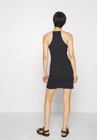 Calvin Klein Jeans - LOGO TRIM TANK DRESS - Vestito di maglina - black - 2