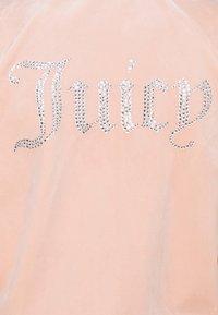 Juicy Couture - TANYA - Zip-up sweatshirt - pale pink - 5